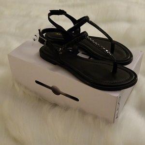 Brand new black Aldo sandals